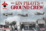 RB72053 WW2 IJN pilots and ground crew