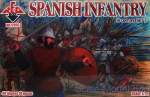 RB72097 Spanish infantry 16 century, set 2