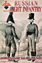 RB72132 Russian Light Infantry (Jagers, Napoleonic Wars 1805-1808)