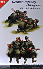 TS35056 German infantry - Taking a rest