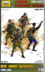 ZVE3501 Red Army infantry, set 1