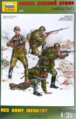 ZVE3502 Red Army infantry, set 2