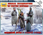 ZVE6232 German headquarters in winter uniform (Snap fit)
