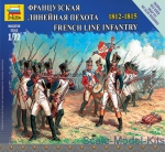 ZVE6802 French line infantry, 1812-1815